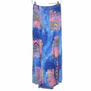 Silver Moon Creations Hawaiian Maxi Skirt A130752